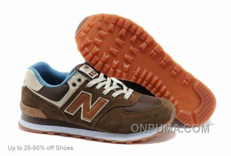 http://www.onpuma.com/new-balance-men-574-brown-casual-shoes-for-sale.html NEW BALANCE MEN 574 BROWN CASUAL SHOES FOR SALE : $67.00