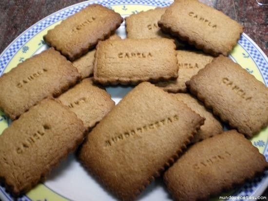 Galletas de canela (thermomix)