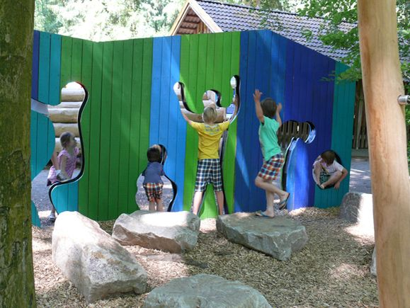 Boulders done right in natural playgrounds by Kukuk | Playscapes