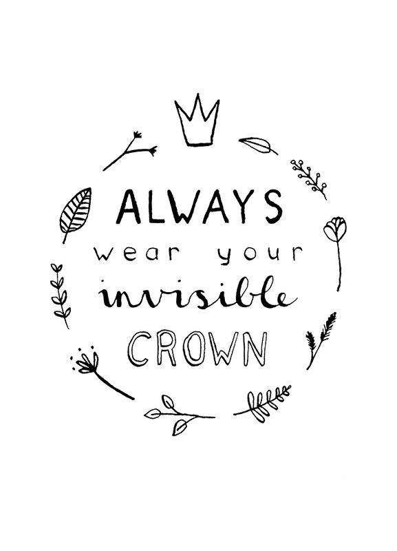 Ninamaakt 'Kaart Invisible Crown'