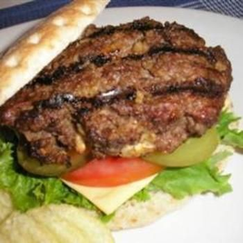 Sour Cream Beef Burgers @ allrecipes.com.au