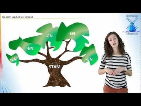 persoonsvorm tegenwoordige tijd - NederlandsAcademie - YouTube