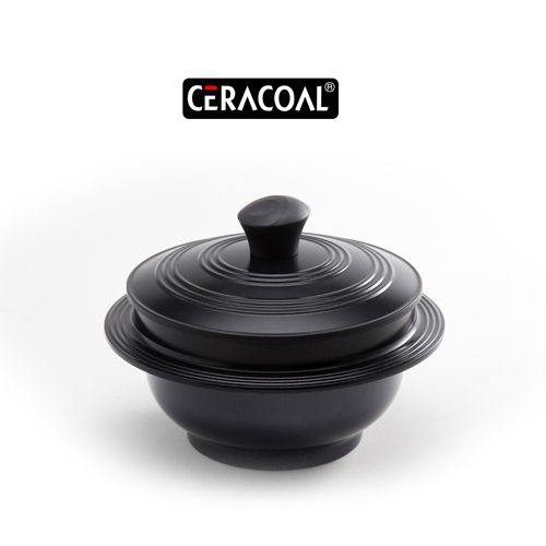 CERACOAL - Korean Traditional design | Excellent non-stick function | Superior heat distribution & retention | GAMASOT