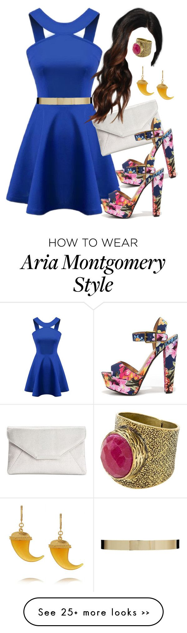 """""""Aria Montgomery inspired outfit"""" by liarsstyle on Polyvore"""