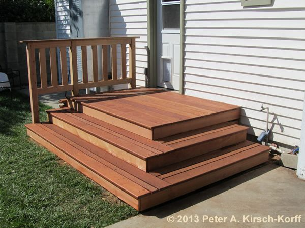 25 best ideas about wooden steps on patio