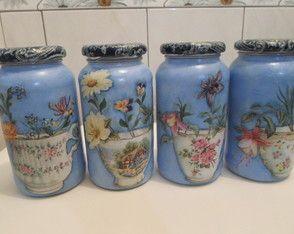 Kit de potes floral