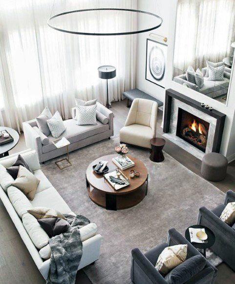 Top 50 Best Living Room Lighting Ideas Interior Light Fixtures Big Living Room Design Large Living Room Layout Rectangle Living Room