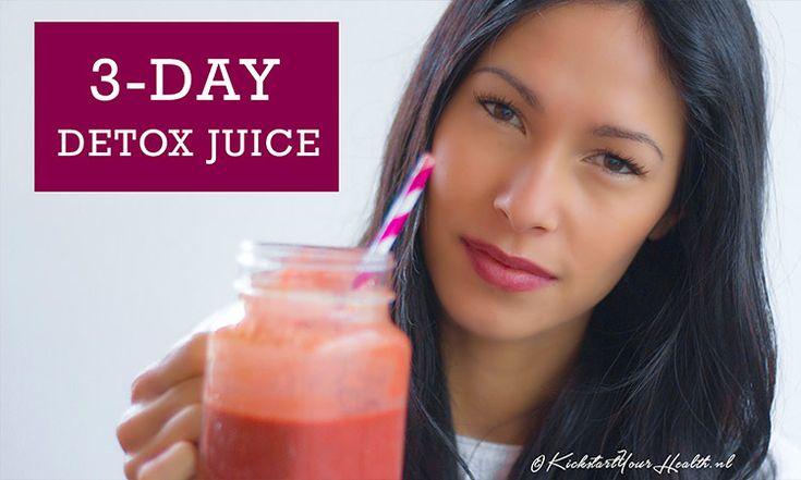 Deze driedaagse detoxkuur kun je helemaal zelf in eigen keuken maken. Bekijk hier de 5 detox sapkuur recepten. Gemakkelijk, betaalbaar en gezond!