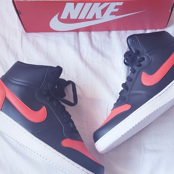 Nike Ebernon Mid Bred Inspired by 1980s