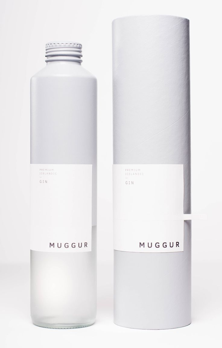MUGGUR - Premium Icelandic Gin | packaging / graphic design: Simon Olbach |