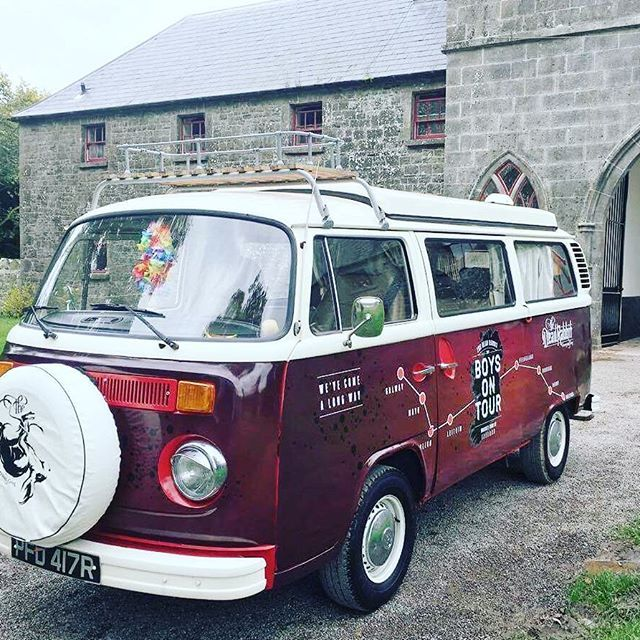 Here's Poppy, all freshened up and ready to roll again, as we kick off the second half of our whiskey tour of Ireland: 41 pubs and six distilleries in 17 days. We've already been to – yes! – Belfast (the Duke of York, Maddens & Kelly's Cellars), and today we're at Slane before heading on to Wicklow and Tipperary. Which, as everyone knows, is a long way. So if you see us on the road, give us a wave – or even better, come over and say how're yis?