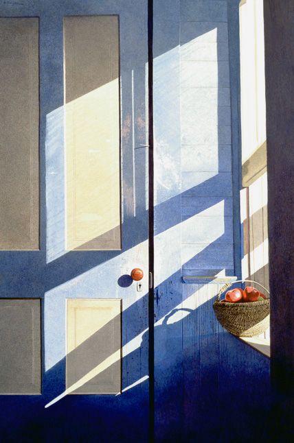 "Gary Akers: ""Majestic Light"", watercolor"