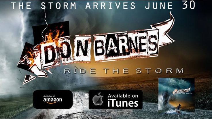 Don Barnes - Everytime We Say Goodbye (Album 'Ride The Storm' Out June 30)