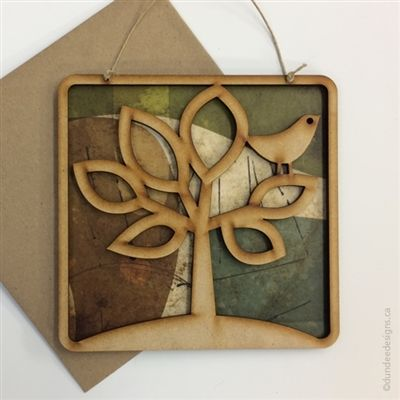 Tree of Life - Greeting Card/Wall Art by Shirley Lloyd-Davies, Dundee Designs Inc.