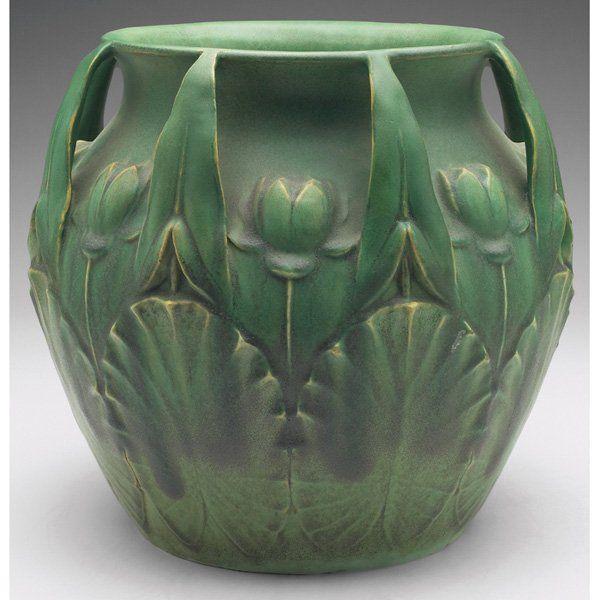 TECO Jardiniere (TECO, nr. Chicago, famous for its matte green glazes)