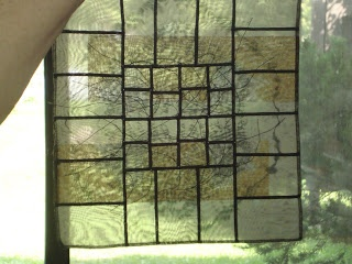 A Bojagi Day! Inspired thought: Could do a stained glass design with sheer fabrics and hang over a window.