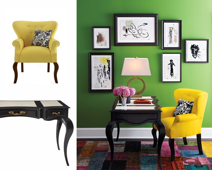 vibrant idea yellow picture frames. Horchow  another vibrant idea 128 best Art Arranging Mirrors images on Pinterest Home