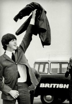 the beatles Paul McCartney 1960s British 1964