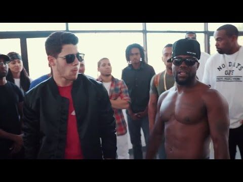 Vanilla Wafer vs Chocolate Droppa | Nick Jonas & Kevin Hart - YouTube