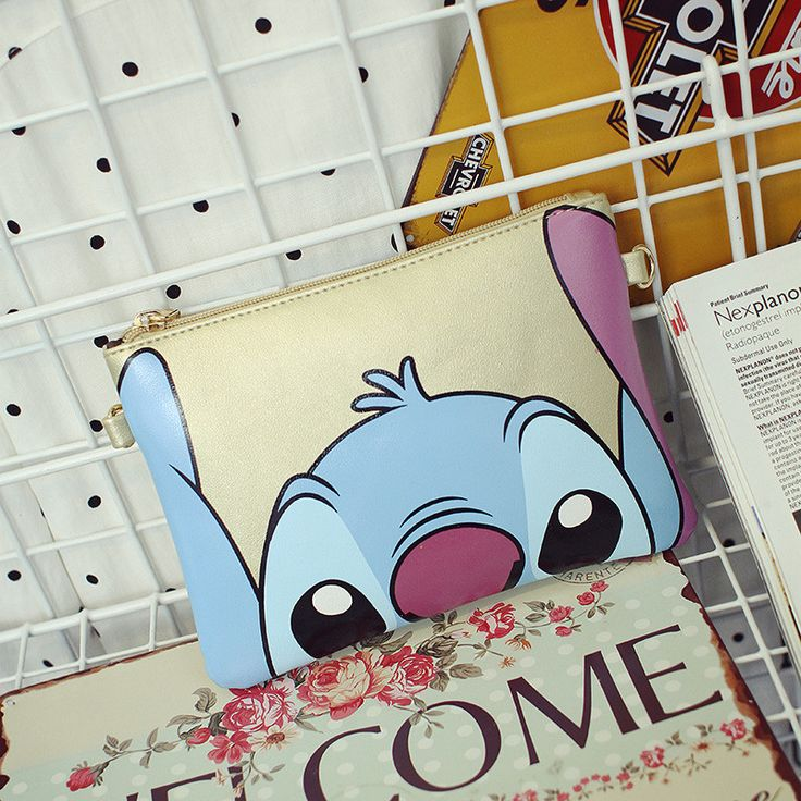 2016 new cartoon Stitch women's messenger bags