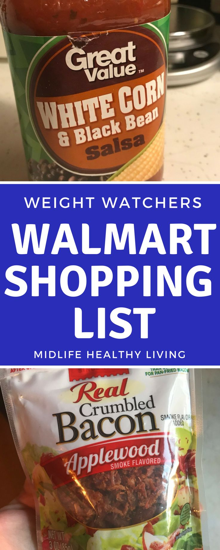 One of the main advertising points for Weight Watchers and especially the new Weight Watchers Freestyle programs is that you can eat anything! That can make shopping even more tricky as it turns out! Figuring out Weight Watchers food to buy from Walmart is easier than ever with this quick and handy list.    via @midlifehealthyliving