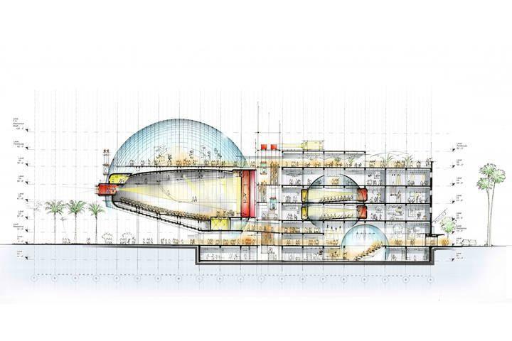Primeras imágenes del Academy Museum of Motion Pictures / Renzo Piano