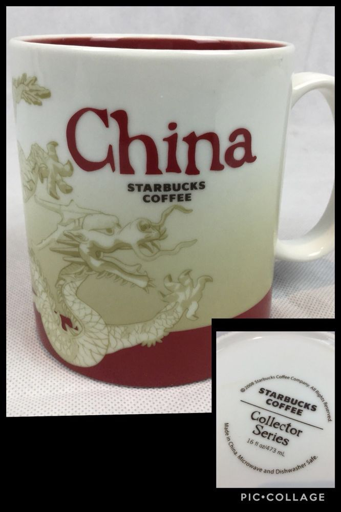 About Mug China Details Coffee 2008 Collector Global Icon Starbucks xBCrdeo