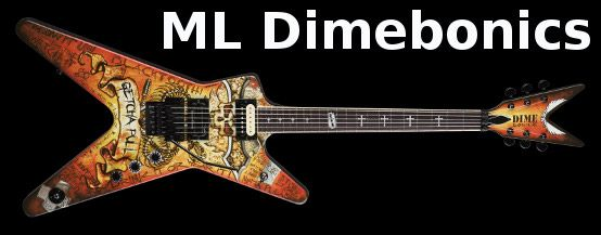 Dean ML Dimebonics Dimebag Darrell Signature Electric guitar For Sale in Watertown, NY
