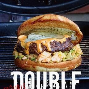 Double trouble burger