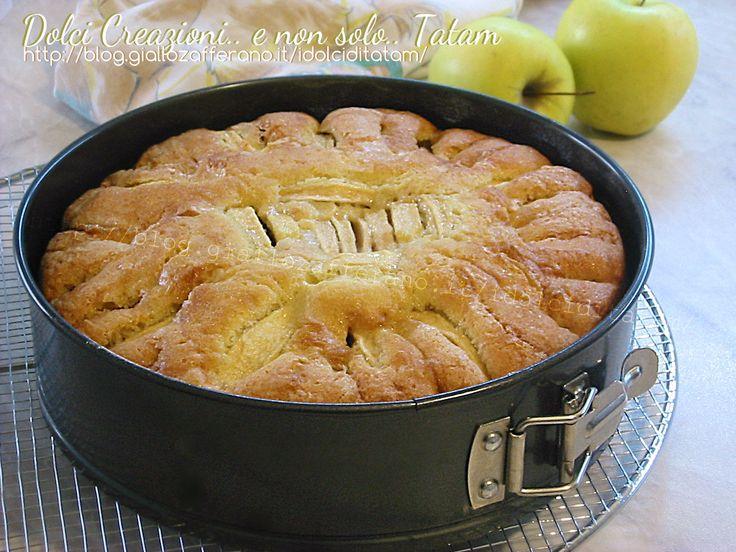 Torta soffice alle mele   ricetta dolce da credenza