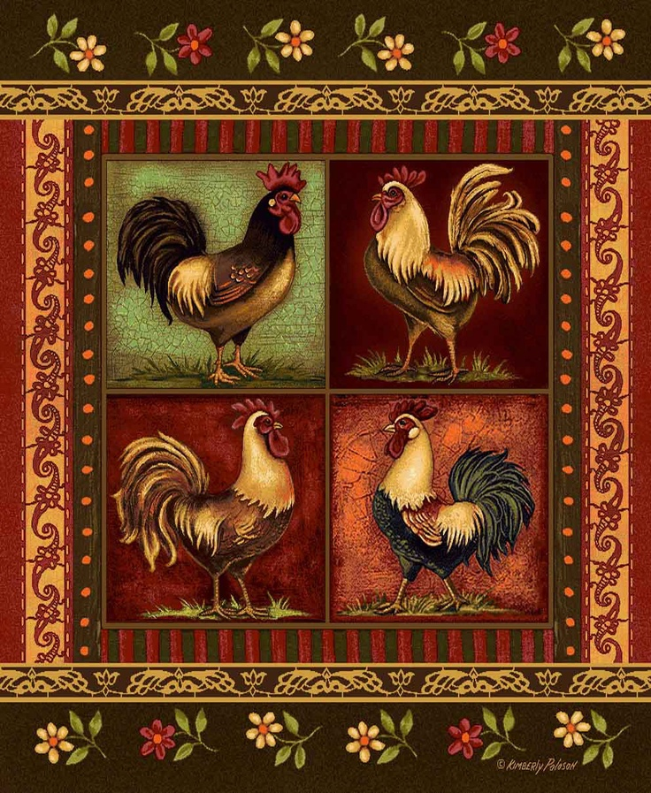 46 Best Roosters Images On Pinterest