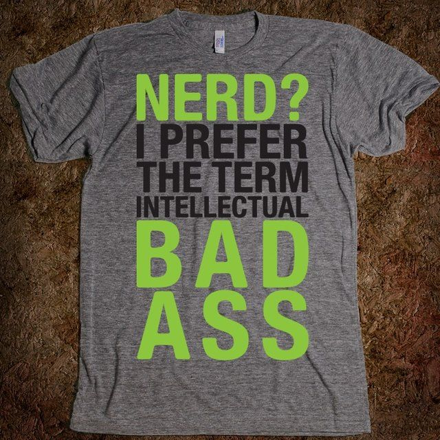 Intellectual Bad Ass Tee