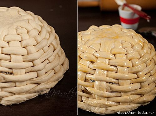 Woven Bread Basket can be used for any holiday...http://homedecoratingideasphotos.blogspot.com/2013/03/easter-basket-crafts-dough-wicker.html