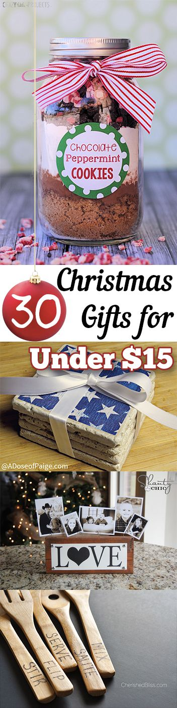 30 inexpensive Christmas gifts for your friends and neighbors.