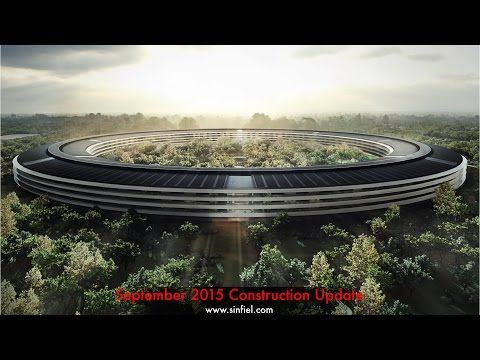 Jaw-dropping scale of Apple's spaceship campus revealed in new drone footage: The scale of the massive 2.8 million-square-foot campus is impressive, plus the campus is expected to reach net-zero energy standards and will generate 100 percent of its power from renewable energy, including 700,000 square feet of rooftop solar panels.
