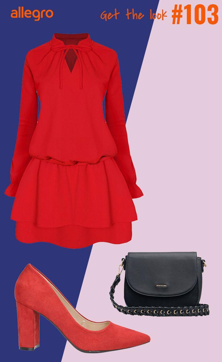 Sukienka Torebka Szpilki Fashion Moda Polyvore