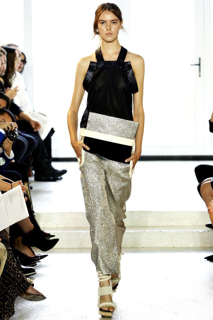 Pedro Lourenço Spring 2012 Ready-to-Wear Fashion Show - Josefien Rodermans (WOMEN)