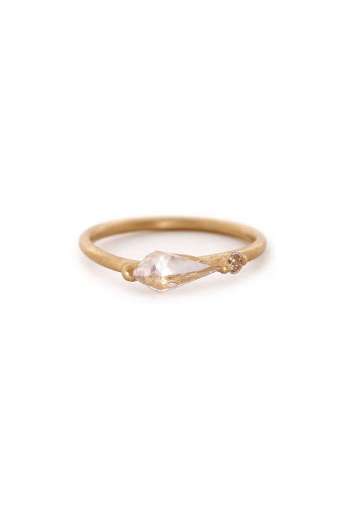 Polly Wales Asymmetric Kite Ring.