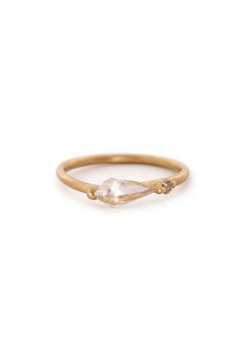 Polly Wales Asymmetric Kite Ring.