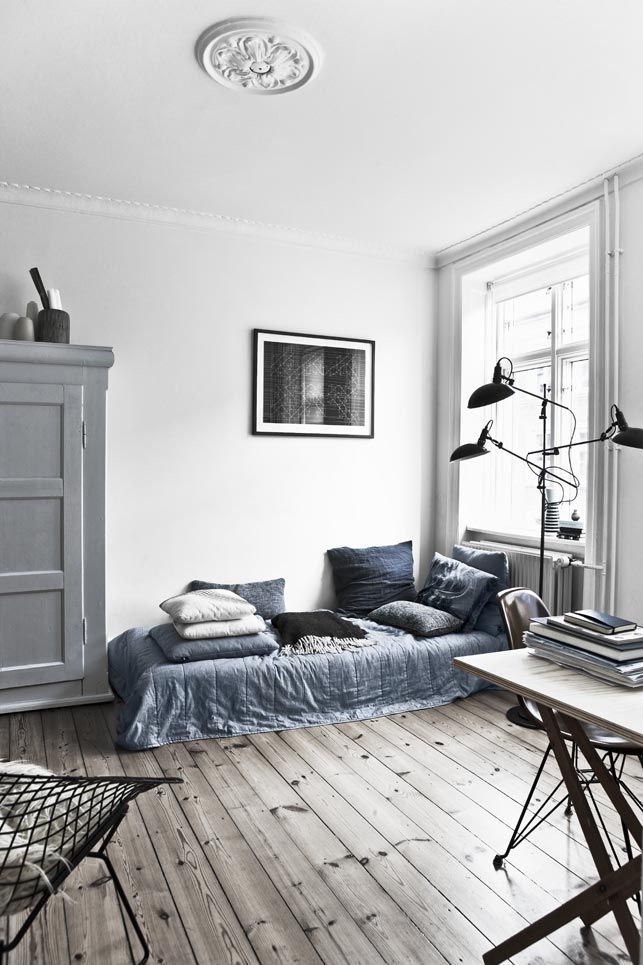 Nordic view from My World Apart #design #interiors #styling