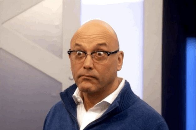 "Every Single Facial Expression Gregg Wallace Has Had On ""Masterchef"""