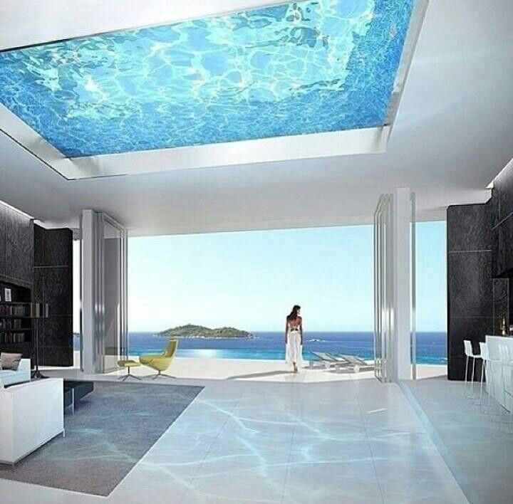 Glass Ceiling Pool!!!