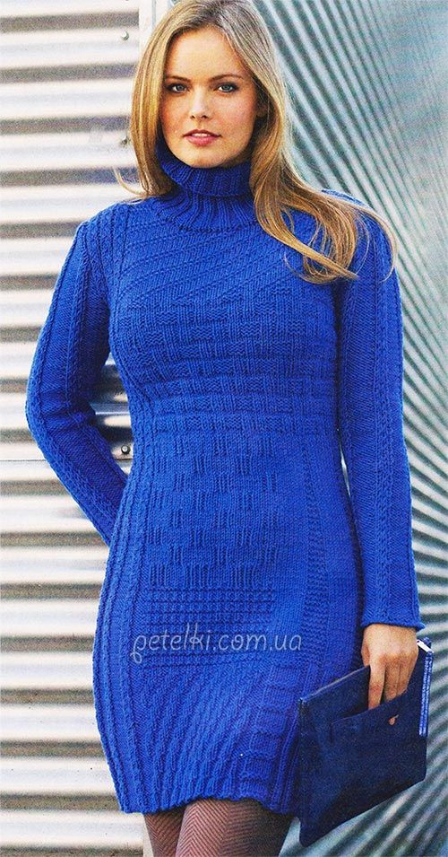 Knits Patterns, Платье Вязаное