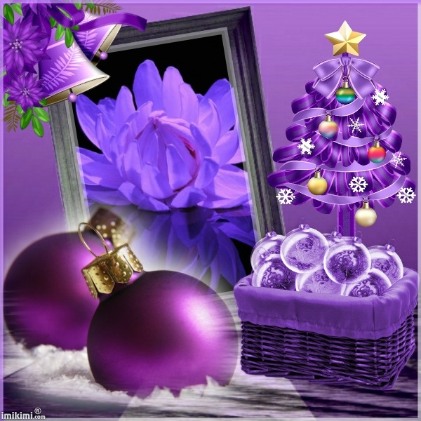 214 Best Christmas In PURPLE! Images On Pinterest