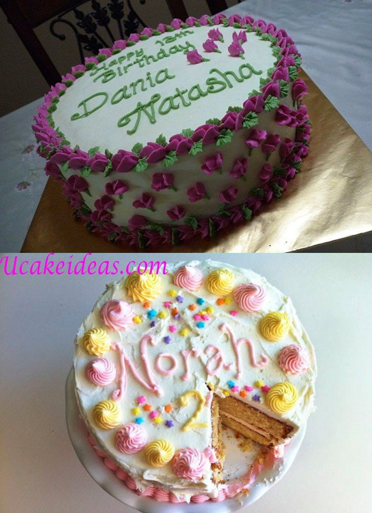 Birthday Cake Ideas Using Buttercream : Simple Birthday Cake Ideas for Men, Buttercream Birthday ...
