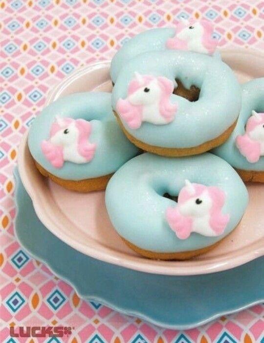 Donuts de Unicórnio