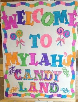 Candy, Candyland, Candy Land, 1st birthday, colorful, sweet party, rainbow party, Sweets Birthday Party Ideas | Photo 1 of 59