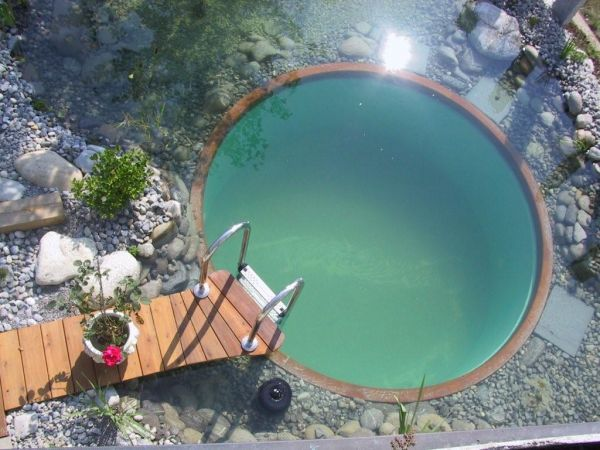 Small Natural Pool Designs the natural way to cool off The Natural Swimming Pool Small Natural Pool Designs