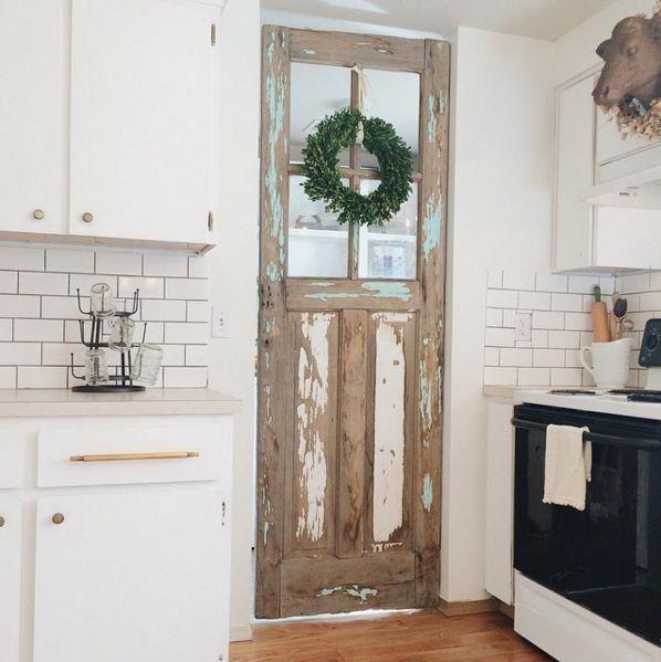 Farmhouse Style Antique Kitchen Farmhouse Pantry Home Kitchens Home