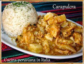 Cucina peruviana in Italia: Carapulcra con yuca
